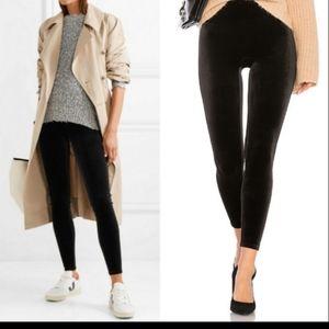 SPANX Velvety Velour Leggings NWT